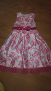 Girls size 6x/7 clothing - 3 pairs of shorts, 1 dress