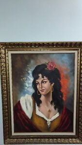 Old Antique Painting