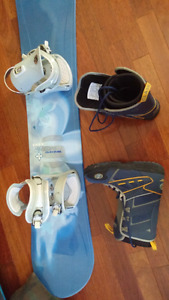 Snowboard Boots and binding