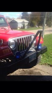 Jeep TJ front bumber