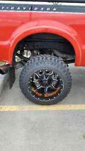 20x14 kali offroad twisted wheels/tires