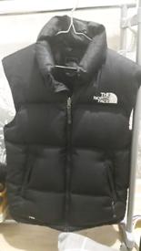 North face bodywarmer size medium