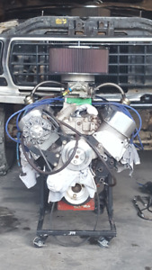 Race motor and parts