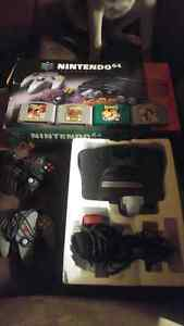 N64 , games and accessories!!