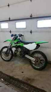 Kawasaki kx 250 works great