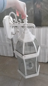 large carriage style exterior light