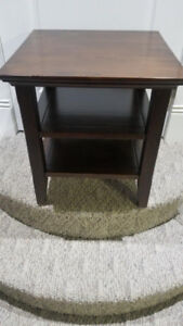 Acadian Solid Wood End Side Table