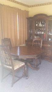 Vintage dining room set