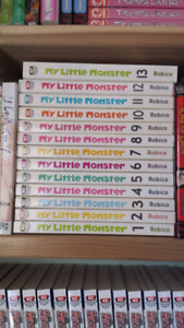 My Little Monster Volumes 1-13 (Complete) Manga