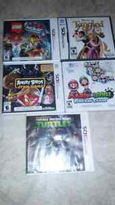 5 games for $60.00 Nintendo 3Ds