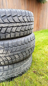 Winter tires - non studded