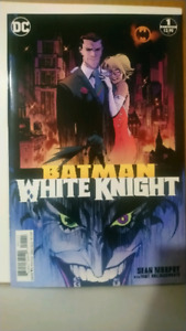 Batman white knight complete set 1-8 comics