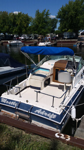 wellcraft 230 aft cabin and trailer