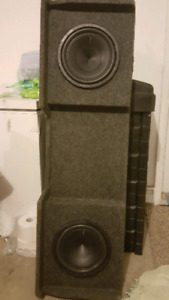NEW Bassworx 10' sub box!! SUBS NOT INCLUDED