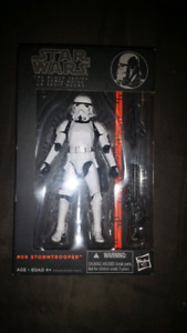 Star wars black series stormtrooper!