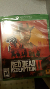 RED DEAD REDEMPTION 2 XBOX ONE SEALED BRAND NEW SAVE $30 RETAIL