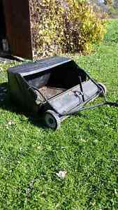 42 inch lawn sweeper leaf sweeper