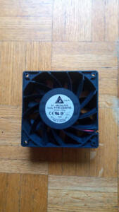 DC square fan, PC card slot fan
