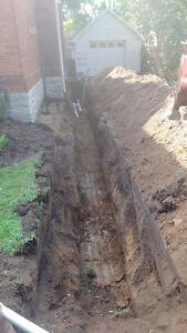 Digger.Diggin mini excavating Stratford Kitchener Area image 5