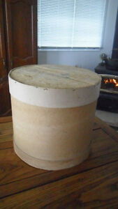 Large vintage cheese box