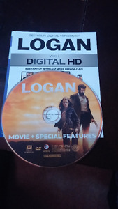 LOGAN DVD FOR $10 AND LOGAN DIGITAL HD FOR $5