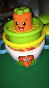 Carrot / pot toy