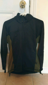 Head Snowboard Jacket with Back Protector