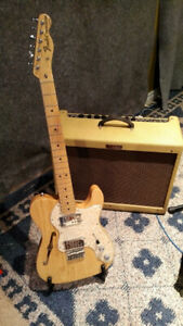 72 reissue Fender Telecaster Thinline