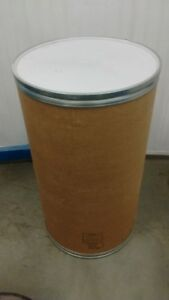 40 Gallons cardboard lockable food grade barrels