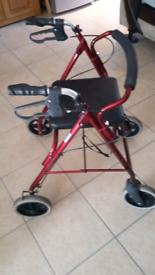 ROMA 4 wheel walker