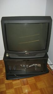 Television 27 inch Sears with stand