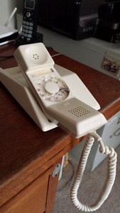 Vintage Contempra Rotary Dial Telephone