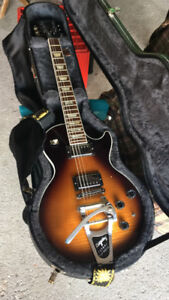 Gibson LP tobacco burst with bigsby