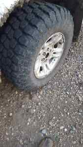 Mud tires 265 75 16 for sale or trade