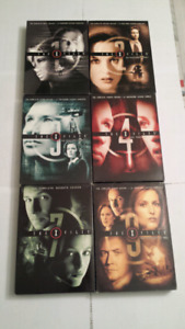 X files Seasons 1,2,3,4,7,9