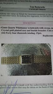 High End Gents Whittnauer Watch Cornwall Ontario image 3