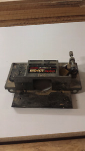 Craftsman biscuit jointer attachment for router