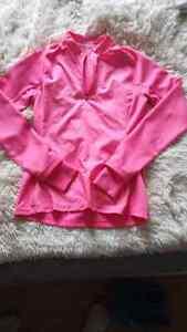 Pink adidas shirt