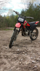 2003 crf 230 with ownership