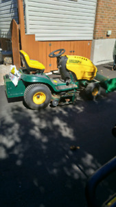 Yard Man Lawnmower/Tractor with Snow Plow