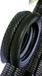 2 Motorcycle Tires – 3.25-19 and 3.50-18 Bike Tire trye
