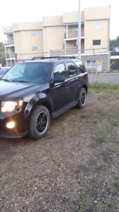 09 ford escape fully loaded