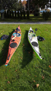 Two Impex kayaks for sale.