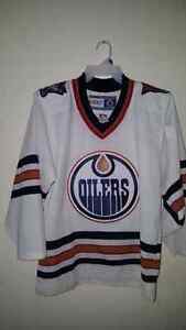 Oilers  Jersey adult small   $60.00