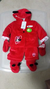 Brand new Disney Minnie Mouse Snow Suit