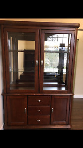 Beautiful dining hutch / display case