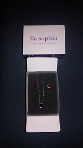 Lia Sophia July birthstone set
