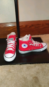 Red High Top  All Star Converse