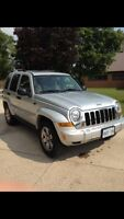 2006 Jeep Liberty- New engine with 4.5 years of warranty on it