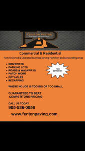FENTON PAVING AND PROPERTY MAINTENANCE - ASPHALT DRIVEWAYS